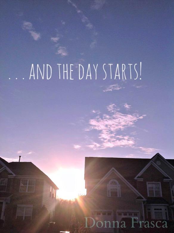 day starts