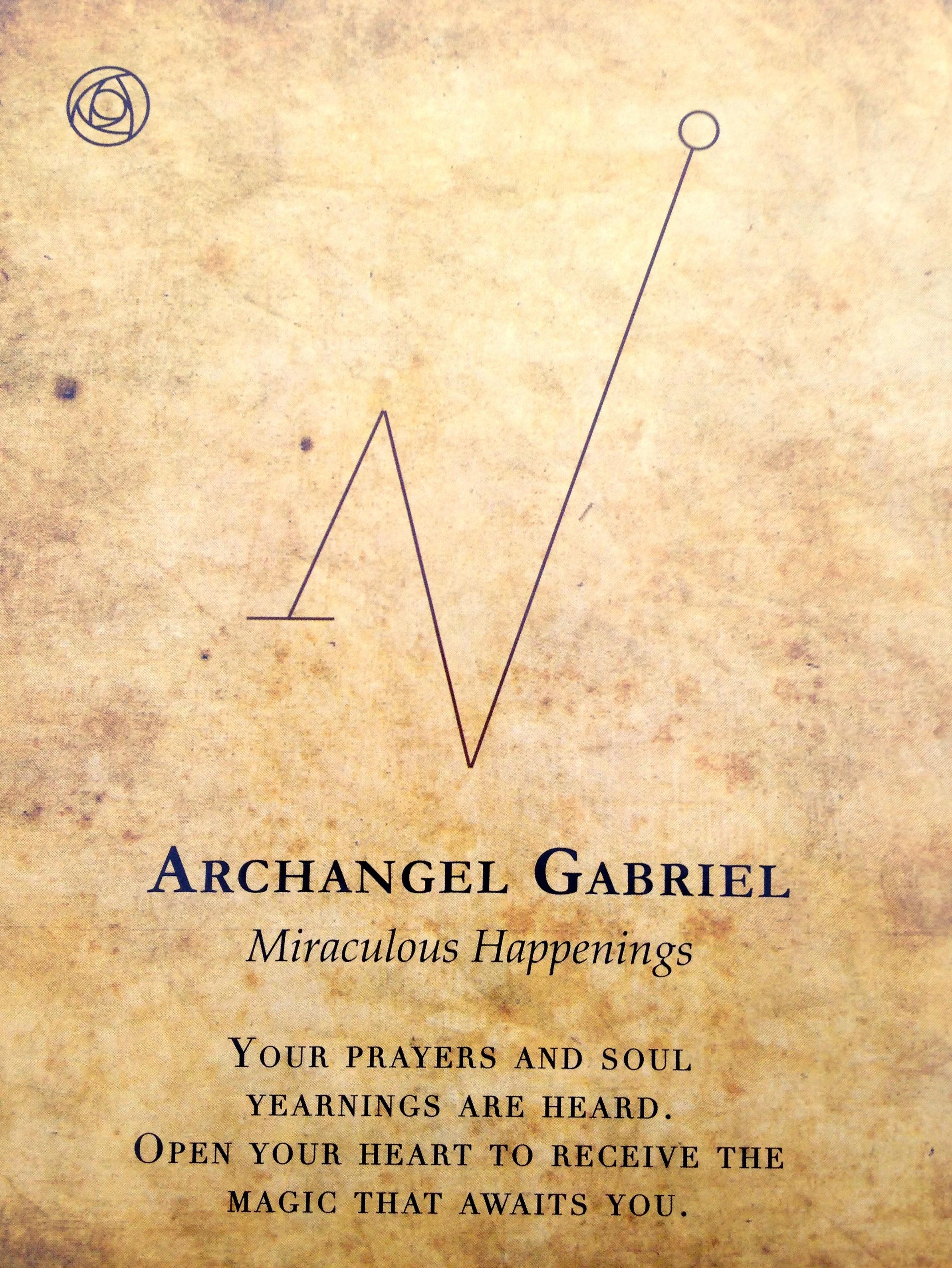 Channeled From Archangel Gabriel Angel Hug 234