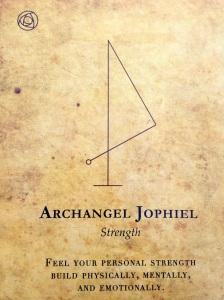 Archangel Jophiel says be strong