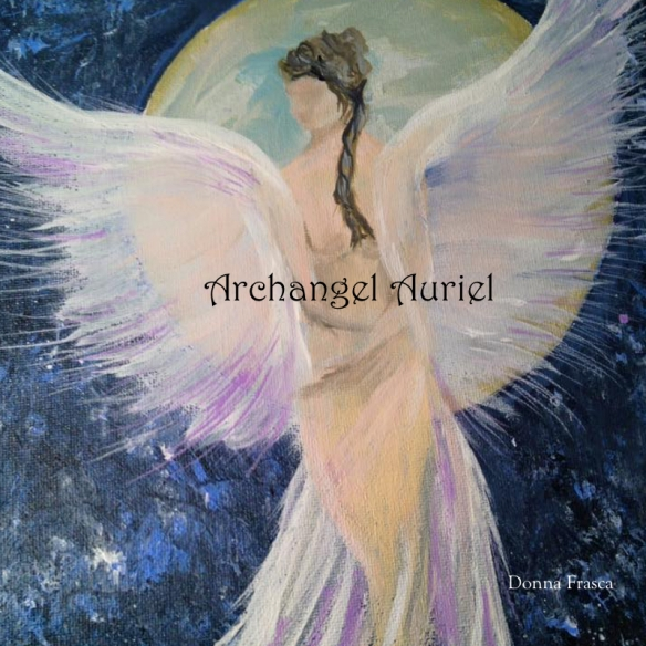 Archangel auriel and the full moon