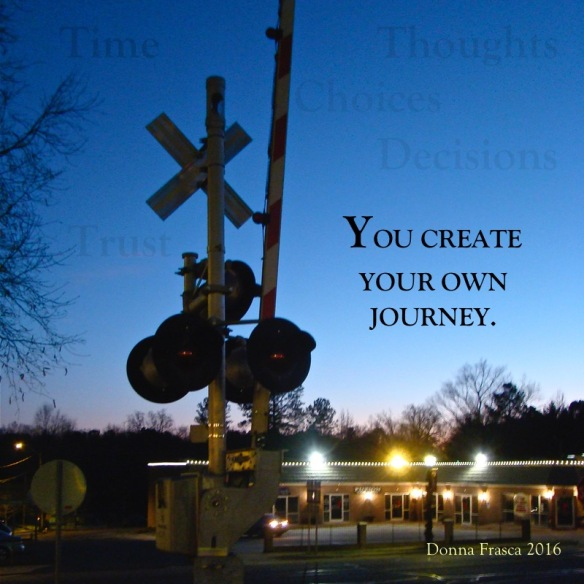 you create your journey