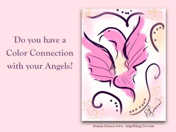 color connection with angels