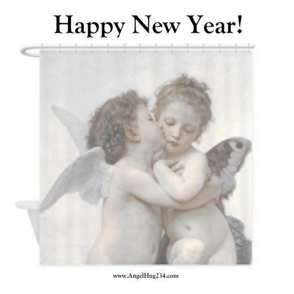 angel hug happy new year