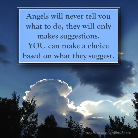 how do I know the messages I hear are from my angels?