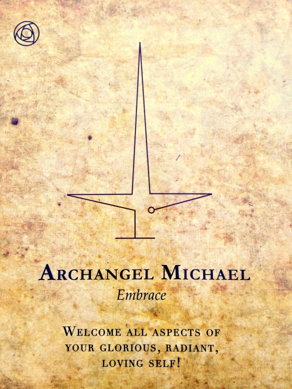 archangel michael says embrace