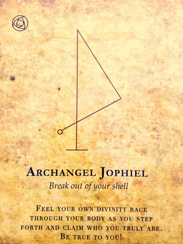 break out of your shell with Jophiel