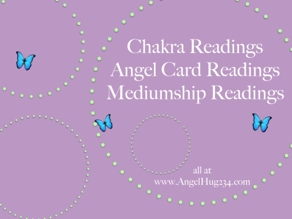 angel hug readings