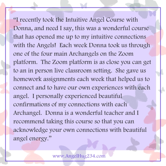 Intuitive Angel Certification Class review